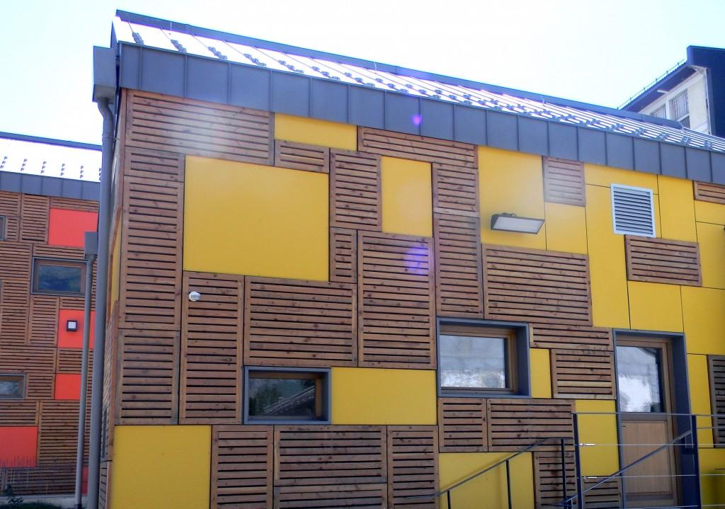 Charpentier école bois savoie 73