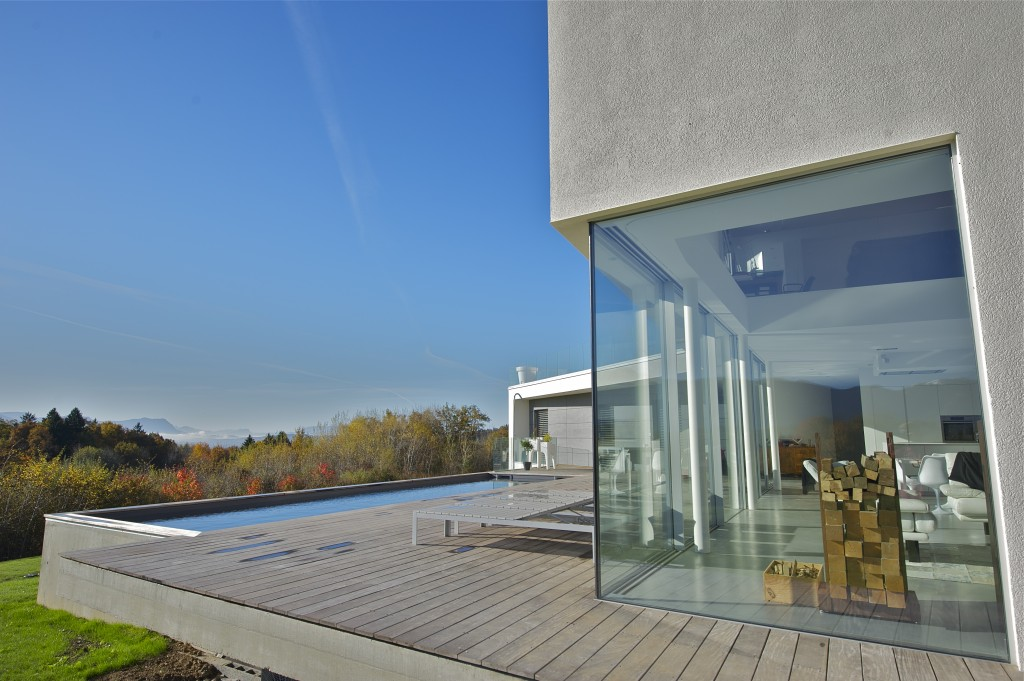 Charpentier maison bois luxe haute savoie 74
