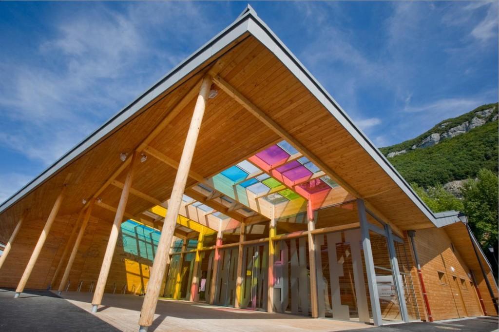 Charpentier école bois Annecy