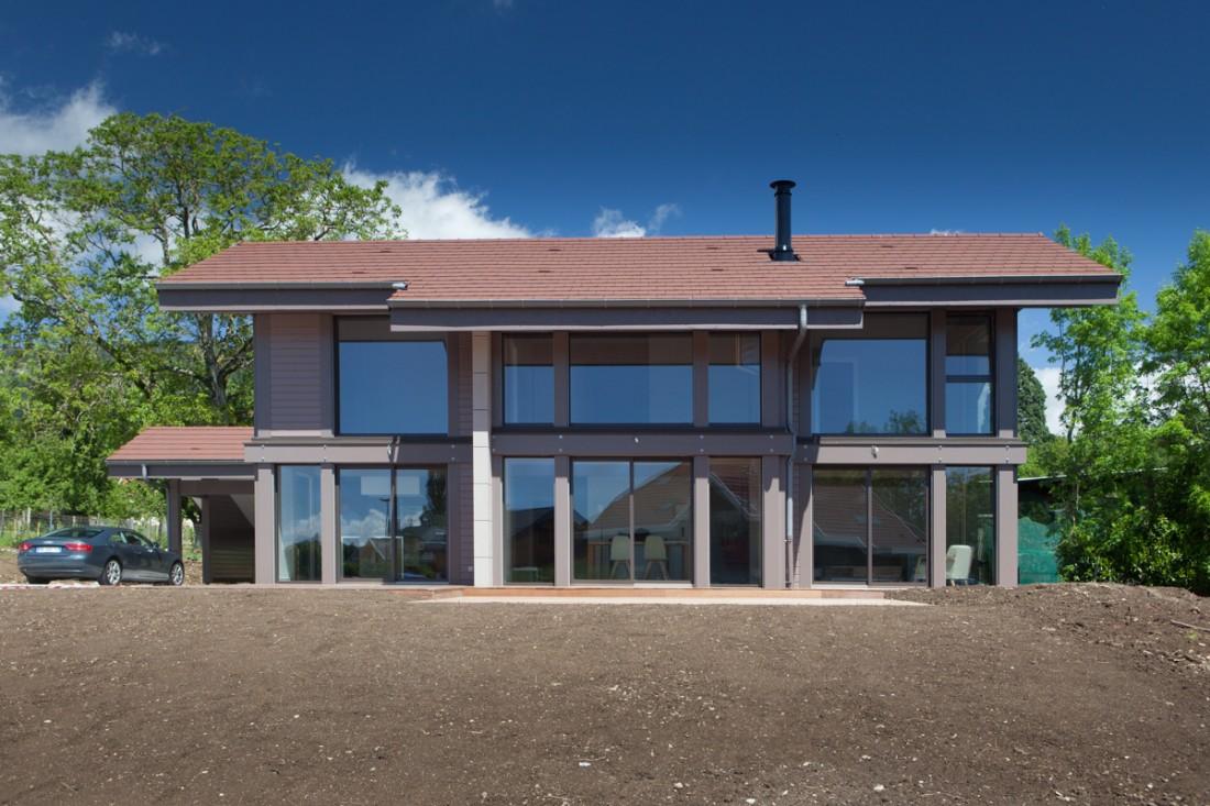 Constructeur maison bois luxe haute savoie 74